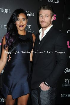 Gorgeous interracial couple on the red carpet #love #wmbw #bwwm