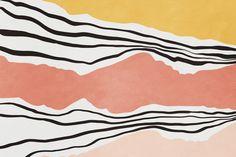 Modern irregular Stripes 01 wallpaper from Happywall Mural Art, Wall Murals, Pattern Lockscreen, Bathroom Mural, Living Room Murals, Paper Backdrop, Paint Stripes, Pics Art, Custom Wallpaper