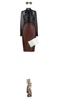 """""""Untitled #2568"""" by mitchelcrandell ❤ liked on Polyvore featuring Dolce&Gabbana, M&S Collection, Gianvito Rossi, Neiman Marcus, Bottega Veneta, women's clothing, women's fashion, women, female and woman"""