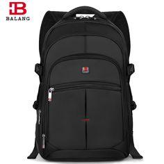 BALANG Brand Fashion Korean Style Unisex Men College School Bag Teenage Boy Travel Waterproof Nylon Large Capacity Backpacks