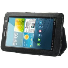 $6.14 (Buy here: http://appdeal.ru/4twz ) PU Leather Bracket Case Tablet PC Leather Case with Holder for Samsung Galaxy Tab 2 (7.0) / P3100 for just $6.14