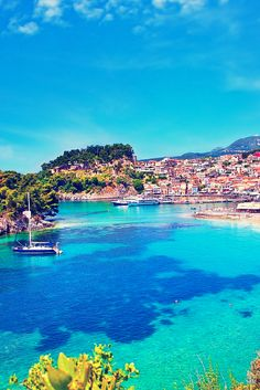 Parga City, Greece