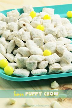 Lemon Puppy Chow | Serving Up Southern