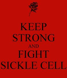 "September is Sickle Cell Awareness Month. Make Yourself Aware...& f.y.i, it isn't ""just a black people"" illness, it can affect us all regardless of race."