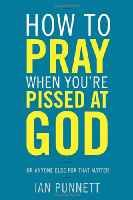 How To Pray When You're Pissed At God by Ian Punnett. How refreshing to find a book which explains that yes, it can be okay to rant at God when you pray, when things are tough or life makes no sense. Coast To Coast Radio, New Books, Books To Read, Find A Book, World Religions, Book Nooks, Pissed, Spiritual Inspiration, Christianity
