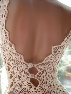 15 Ideas For Crochet Lace Flower Wedding Dresses Crochet Wedding Dresses, Crochet Summer Dresses, Crochet Skirts, Crochet Blouse, Crochet Clothes, Irish Crochet, Crochet Lace, Crochet Designs, Crochet Patterns