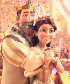 """""""GAH! So beautiful!!! They might be one of the most adorable Disney parents ever!""""<<one of the few disney movies where both parents are actually alive"""