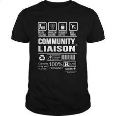 COMMUNITY-LIAISON #hoodie #fashion. PURCHASE NOW => https://www.sunfrog.com/LifeStyle/COMMUNITY-LIAISON-123945860-Black-Guys.html?60505