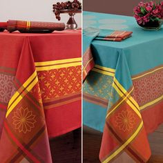 Ease into the Fall entertaining season with some bright new table linens from the Bodrum Delano collection. Delicious!