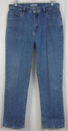 Riders Jeans Size 12 Petite Relaxed Fit 32x29 Classic Rise Free Shipping #Riders #Relaxed