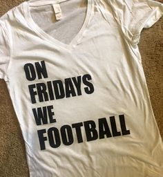 American Football T-Shirt Down Set Hut