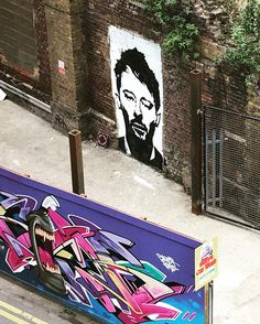 Thom Yorke has suddenly appeared outside my window. So much incredible graffiti in this part of town. #thomyorke #wonkyeye #shoreditchstreetart #londongraffiti by renae.lisa from Shoreditch feed from Instagram hashtag #shoreditch  www.justhype.co.uk Hype Store - Boxpark Shoreditch.