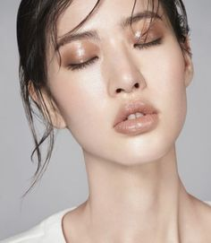 """Try Lip2Cheek RMS """"Spell"""" Nude dusty rose for a similar look."""