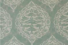 Aqua linen from Penny Morrison.
