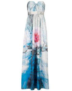 Ted Baker Nolana cubist floral print maxi dress April 2014