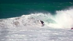 JOHN JOHN FLORENCE SURFING A PERFECT RIGHT