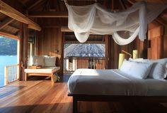 Six Senses Ninh Van Bay Water Villa bedroom
