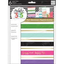 Create 365™ The Classic Happy Planner™ Pocket Folders, Stay Happy