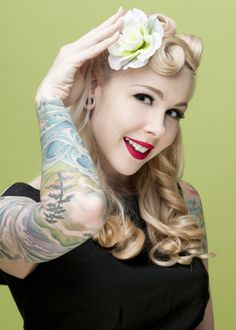 pinup hair dos   Vintage Retro Shabby ChicVintage Pin Up Victory Roll Hair Tutorial