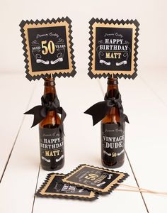 Milestone Birthday Decorations, Vintage Dude, Birthday Banner, Adult Birthday Party Decor, Aged To Perfection 50th Birthday Party Ideas For Men, Birthday Party Decorations For Adults, Vintage Birthday Parties, Adult Birthday Party, 50th Party, 70th Birthday, Husband Birthday Parties, Geek Birthday, 50th Birthday Quotes