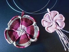 2016-04-03 14.38.52 Macrame Necklace, Macrame Jewelry, Crochet Necklace, Micro Macramé, Macrame Design, Macrame Tutorial, Macrame Projects, Origami, Diy And Crafts