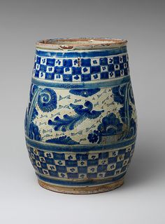 Mexican Flower Pot, 1750-80
