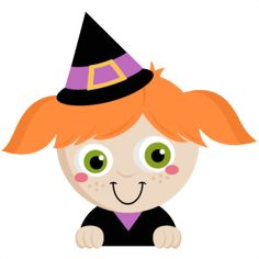 peeking witch svg scrapbook title svg cutting files crow svg cut file halloween cute files for - Cute Halloween Witches