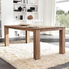 tavolo legno grezzo massello