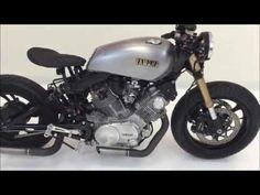 Custom Hand Build 1981 Yamaha Virago 750 Cafe Racer / Bobber - YouTube