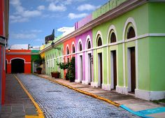 San Juan, Puerto Rico - beautiful colors, rich history - one of my favorite ports on my cruise.