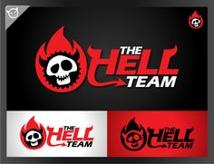 Logo design by ROCKER. #POTD99 01.08.2013 #hell #skull #devil