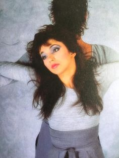 Kate Bush and dancer Michael Hervieu in the music video for Running Up That Hill 1985 Edwin Starr, Uk Singles Chart, Before The Dawn, Female Singers, Celebs, Celebrities, Our Lady, Record Producer, Music Artists