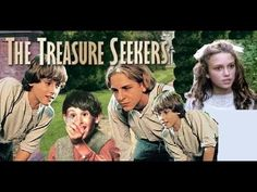 The Treasure Seekers is a 1996 British television family film directed by Juliet May and starring Camilla Power, Felicity Jones and Kristopher Milnes. Felicity Jones, Kids Tv, Keira Knightley, Movies Showing, Movies To Watch, Audio Books, Movie Tv, Tv Series, Novels