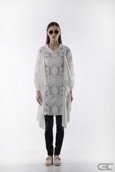 Ss 15, Summer Collection, Illusion, Identity, Layers, Milk, Vest, Spring Summer