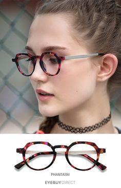 75e95129d8 Phantasm Speckled rose Acetate Eyeglasses from EyeBuyDirect.