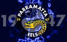Parramatta Eels 1947 Lightning Wallpaper by Sunnyboiiii Nrl Memes, National Rugby League, Pineapple Wallpaper, Lightning, Sports, Don't Judge, Archer, Posters, Australia