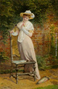 In the Garden - Carlton Alfred Smith