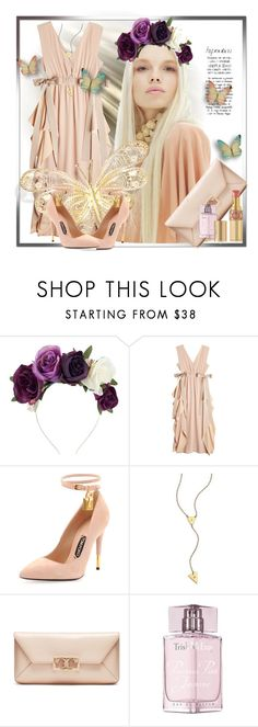 """Hypnotized"" by vv23 ❤ liked on Polyvore featuring Lulu in the Sky, Fendi, Tom Ford, Jennifer Zeuner, Tory Burch, Trish McEvoy and Yves Saint Laurent"