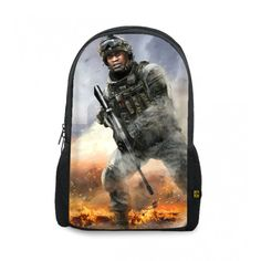 CALL OF DUTY MODERN WARFARE PRINTED BACKPACKS http://www.thewarehouse.pk/call-of-duty-modern-warfare-printed-backpacks-14319