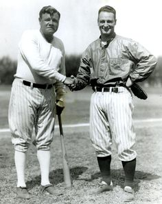 Babe Ruth and Lou Gehrig (1928)