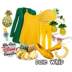 Plus Size Dole Whip Disney Bounding by bgdisneybound on Polyvore featuring WearAll, jcp, American Eagle Outfitters, Tory Burch, Kate Spade, c.A.K.e. by Ali Khan, BaubleBar and Lee Renee