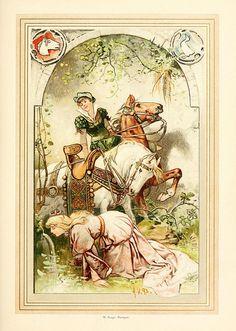 Hermann Vogel illustration by sofi01, via Flickr