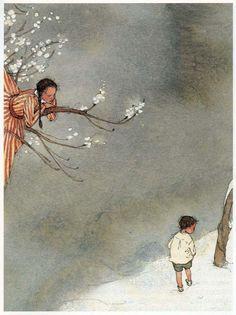 The Selfish Giant -- Lisbeth Zwerger