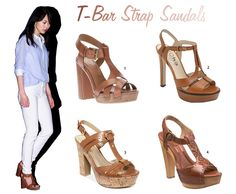 6ca85bcaf570 It s T time for cute T-strap sandals!  fashion  sandals T Strap
