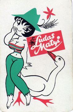 Ludas Matyi kártyanaptár (1971)