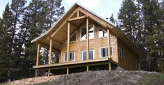 [ Timber Frame Homes House Plans Post Amp Beam Green Featured Plan This Striking Home Has Many The ] - Best Free Home Design Idea & Inspiration Timber Frame Homes, Timber House, Heartland, Log Homes, British Columbia, Beams, House Plans, Construction, Cottage