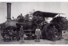 Old Tractors, Steam Engine, Agriculture, New Zealand, Transportation, Cable, Engineering, Trucks, Australia