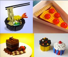 "Ok, not really ""crafty"" per se, but totally freaking awesome lego food."