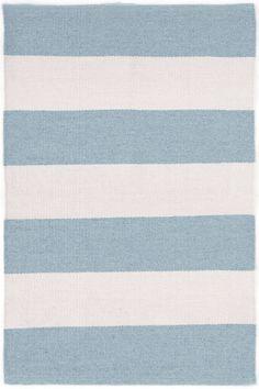 Falls Village Stripe Blue Indoor/Outdoor Rug