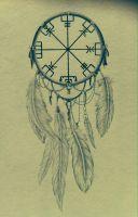 Vegvisir Tattoo Design by NirvanaOfTime